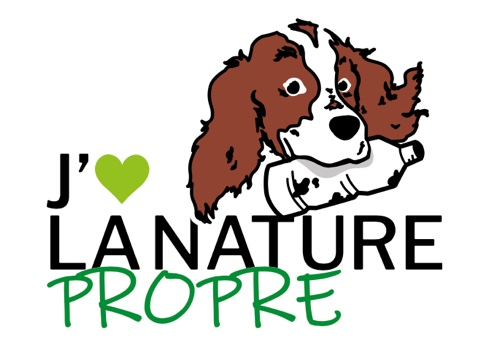 J'aime la nature propre - Logo